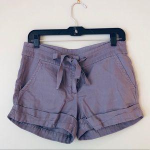 J. CREW | purple shorts